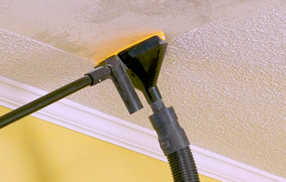 PopEEZE | Popcorn Ceiling Scraper With Vacuum Attachment