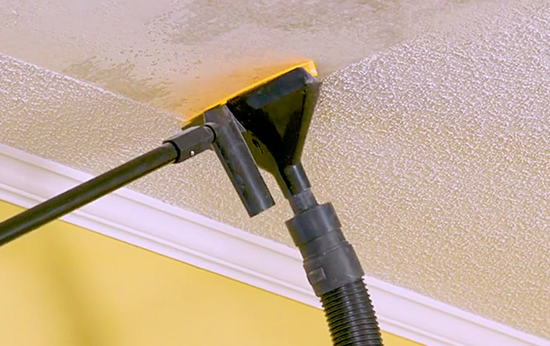 PopEEZE | Popcorn Ceiling Scraper With Vacuum Attachment