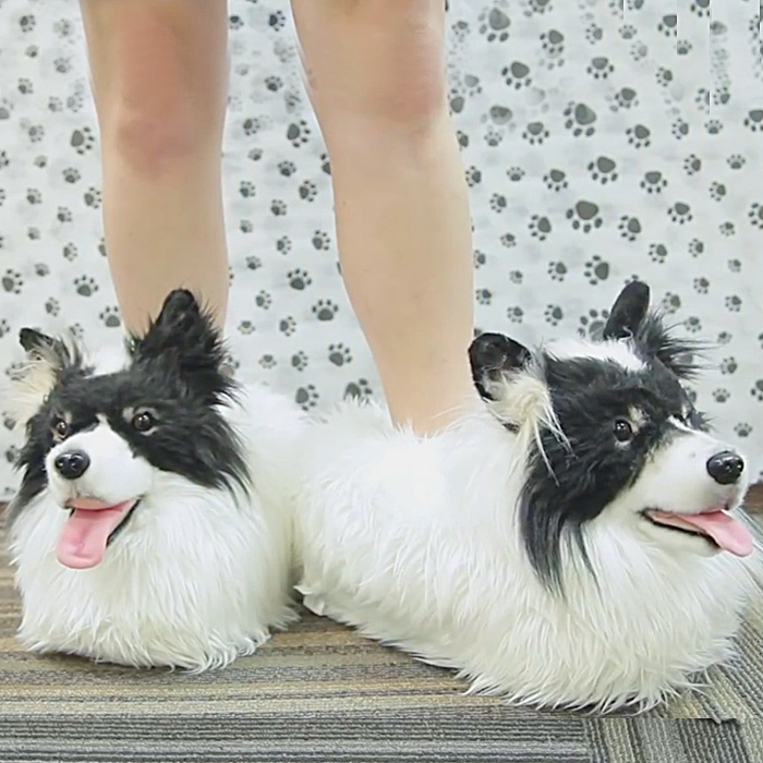 Slippers That Look Just Like Your Dog Or Cat