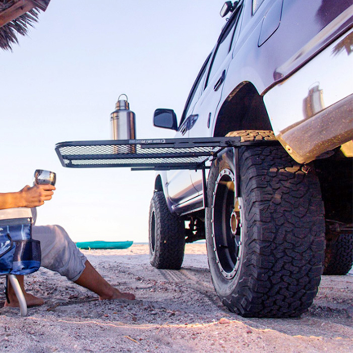 camping tire table