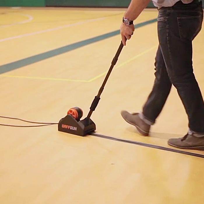 floor tape applicator