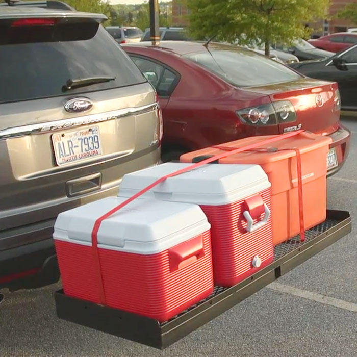 ultimate tailgate hitch seat