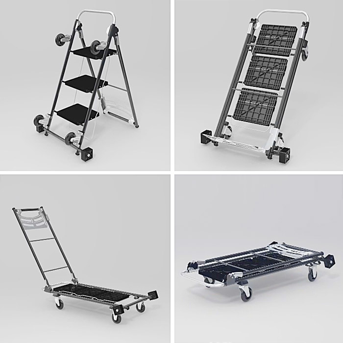 4 in 1 utility cart