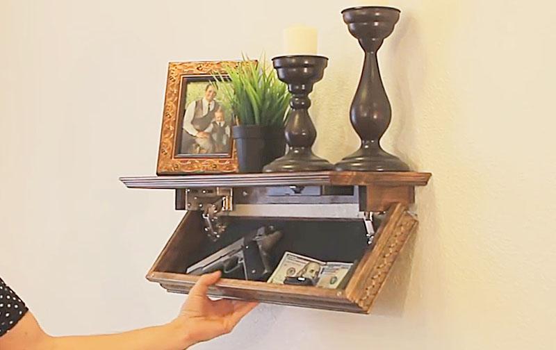 Best Hidden Compartment Shelf | Secret Vent Stash Safe