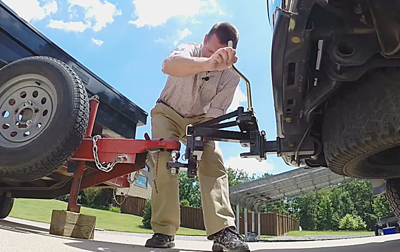 Best Trailer Hitch Alignment System   Reel Quik Hitch