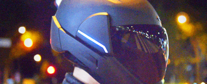 CrossHelmet | Smart Motorcycle Helmet With Rear View Camera
