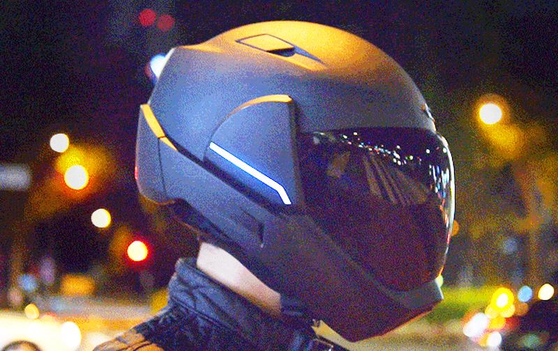 CrossHelmet | Smart Motorcycle Helmet With Rear View Camera