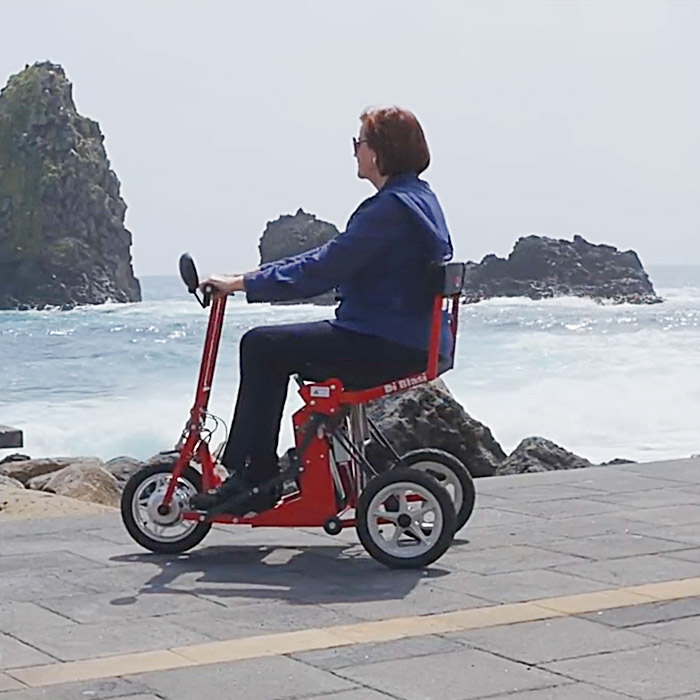 Folding Mobility Scooter For Elderly