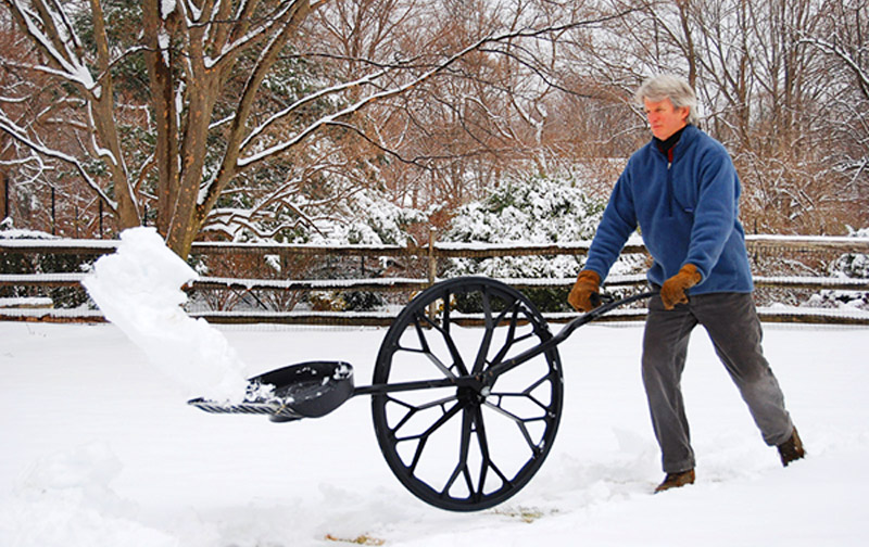 Snow Shovel With Wheel | Snow Wolf Shovel