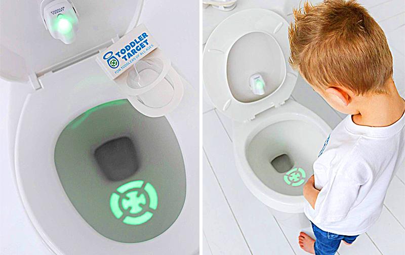 ToddlerTarget   Bullseye Toilet Light For Kids Potty Training