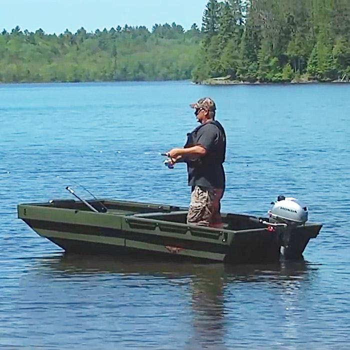 Trailer Jon Boat Combo