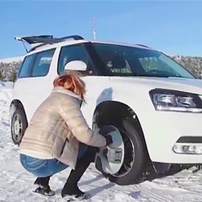 Unique Tire Chains