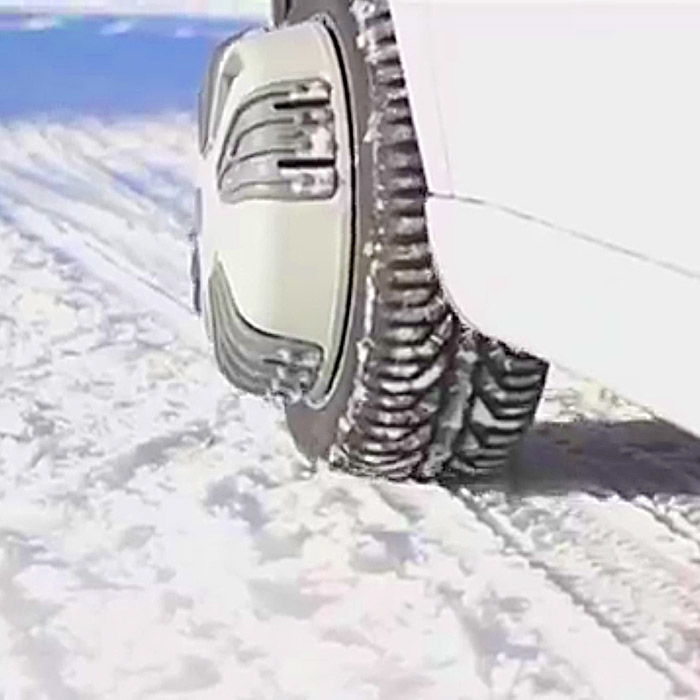 automatic snow chains for cars