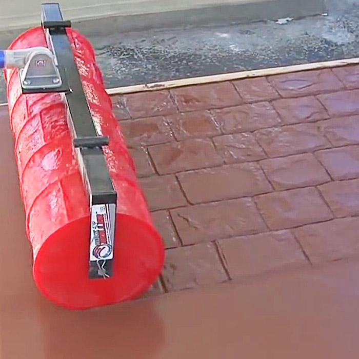concrete texture roller