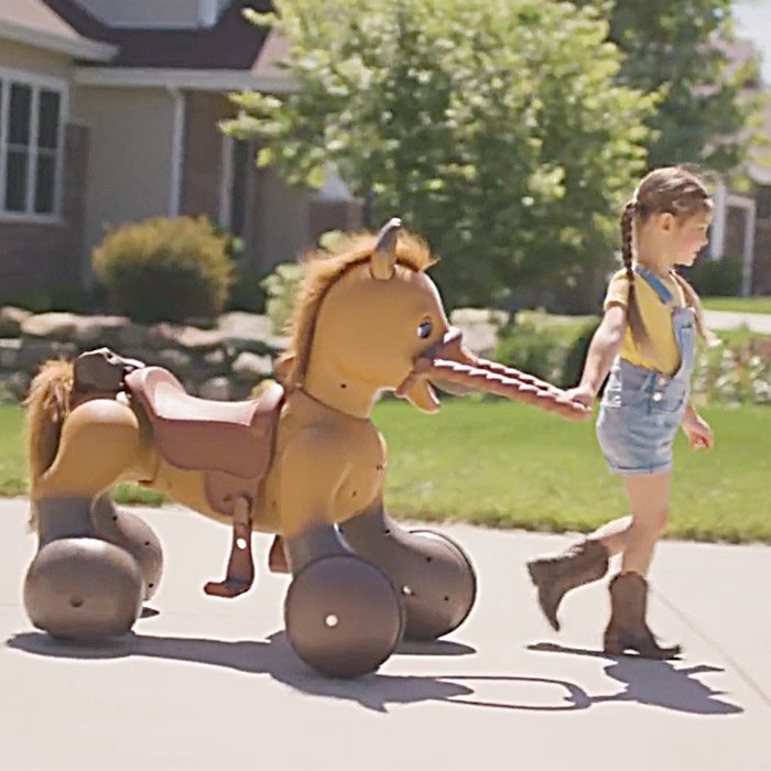 ride on horse toy