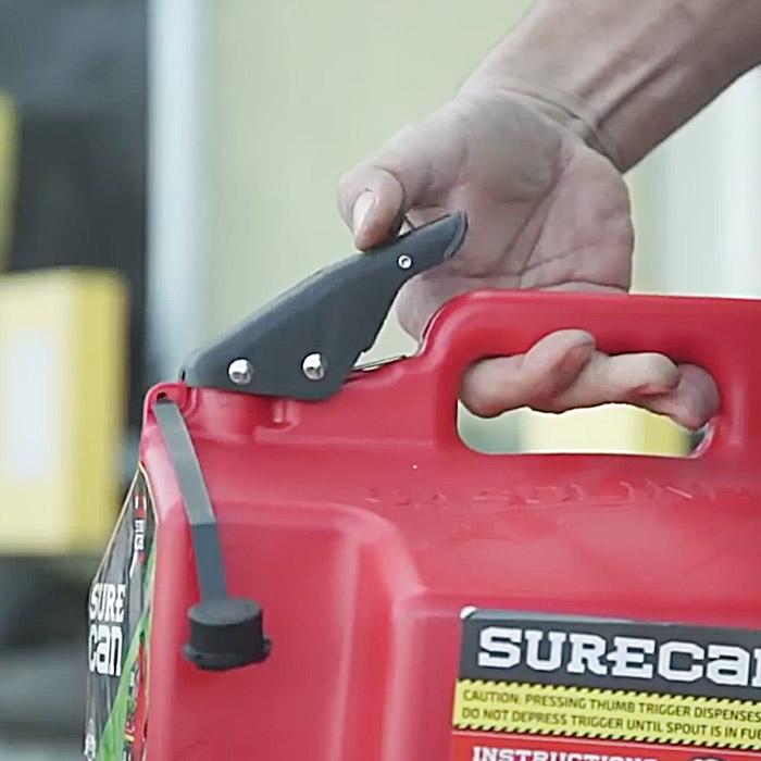 surecan gas container