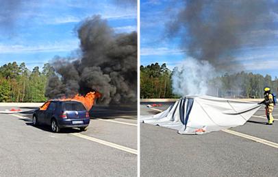 Bridgehill | Car Fire Blanket | Eco-Friendly Fire Extinguisher Blanket