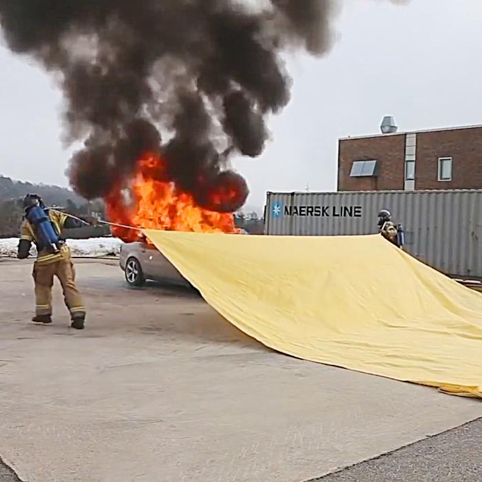 Bridgehill | Car Fire Blanket