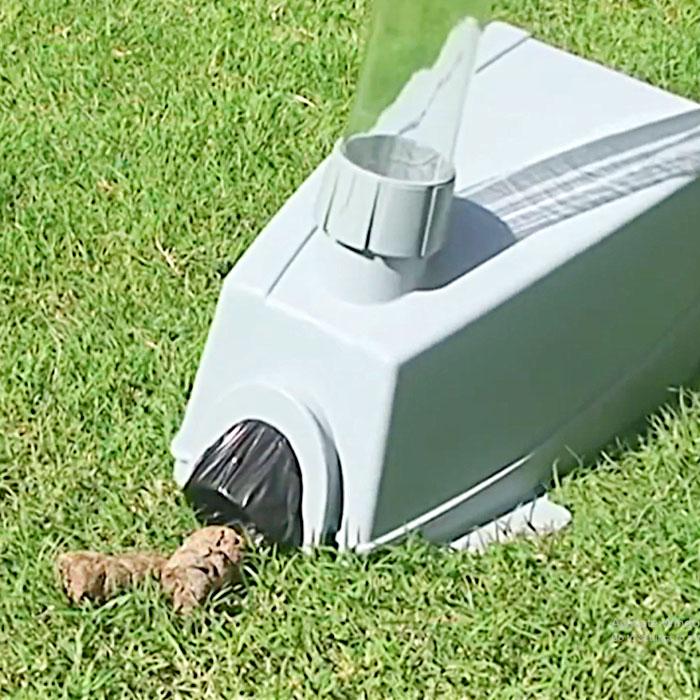 Cordless Dog Poop Vacuum