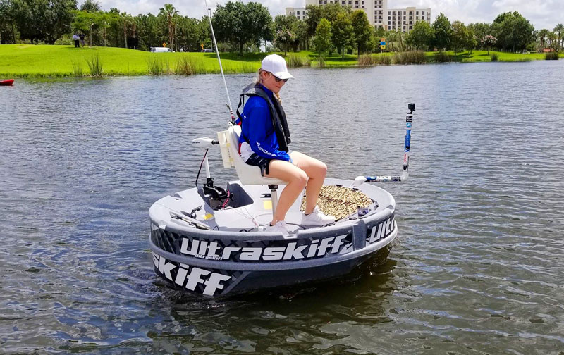 Extremely Portable & Personal Round Fishing Boat | Ultraskiff