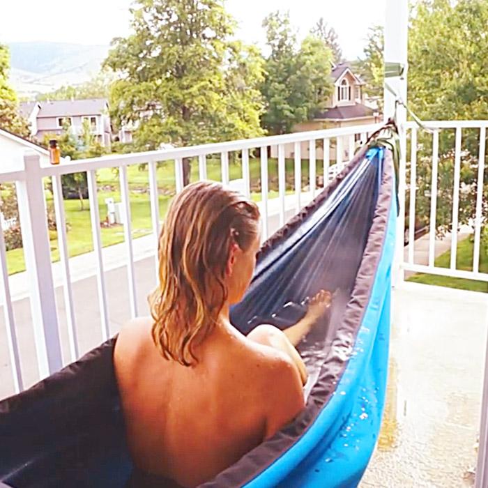 Hot Tub In a Hammock