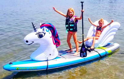 Inflatable Animal Floats For Your SUP Paddle Board | Stand Up Floats
