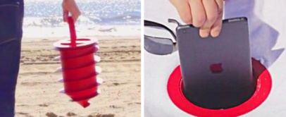 Keep Your Valuables Safe At Beach With The Beach Vault