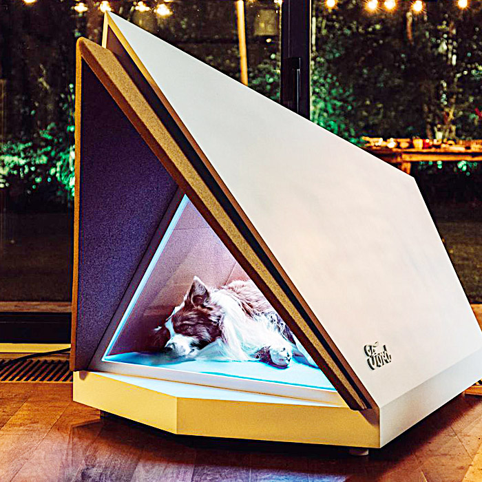 modern dog crate - Noise Cancelling Dog Crate