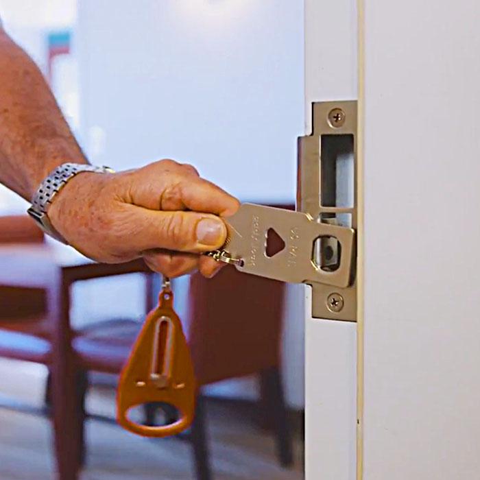 Portable Lock For Door
