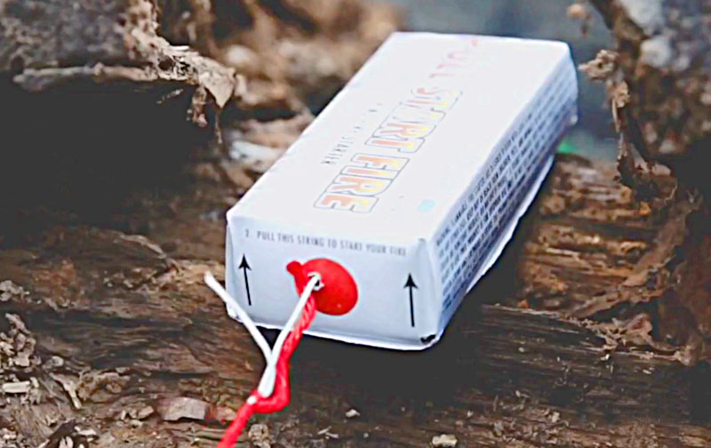 Powerful Pull Start Fire Starter For Camping