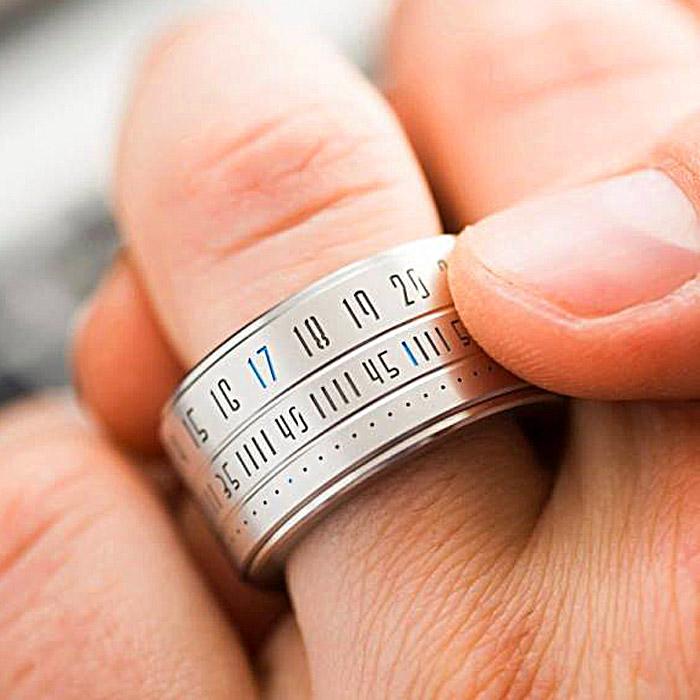 cool rings for men Ring Clock