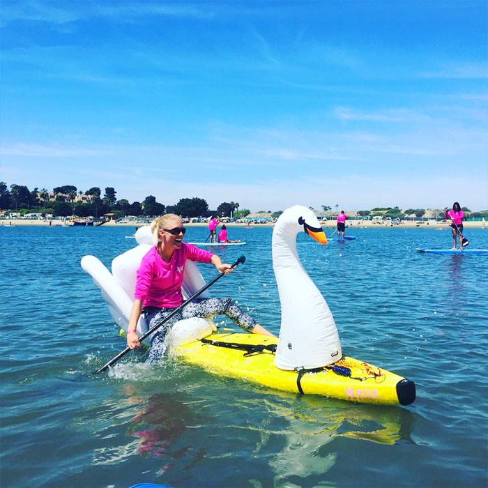 Stand-up Paddle-Board Floats