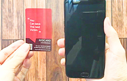 This Card Turns Your Smartphone Into a Hidden Camera Detector