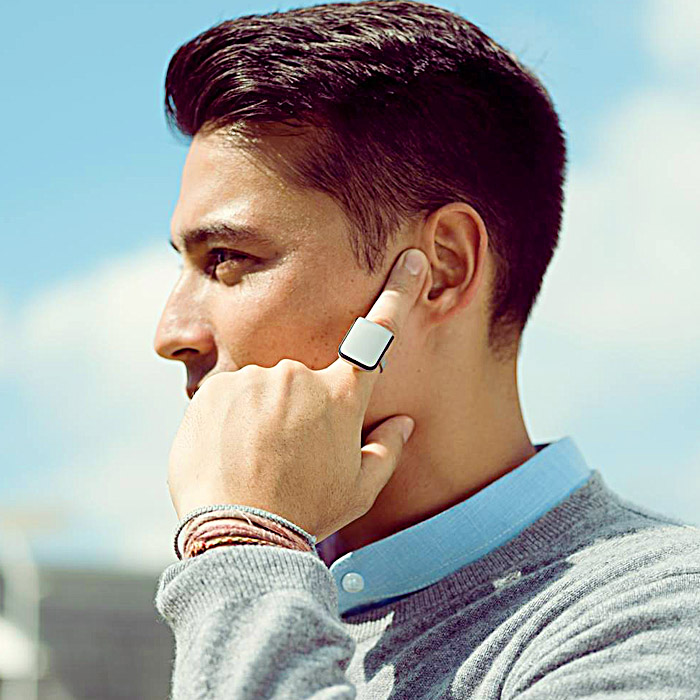 cool rings for men Voice Powered Smart Ring