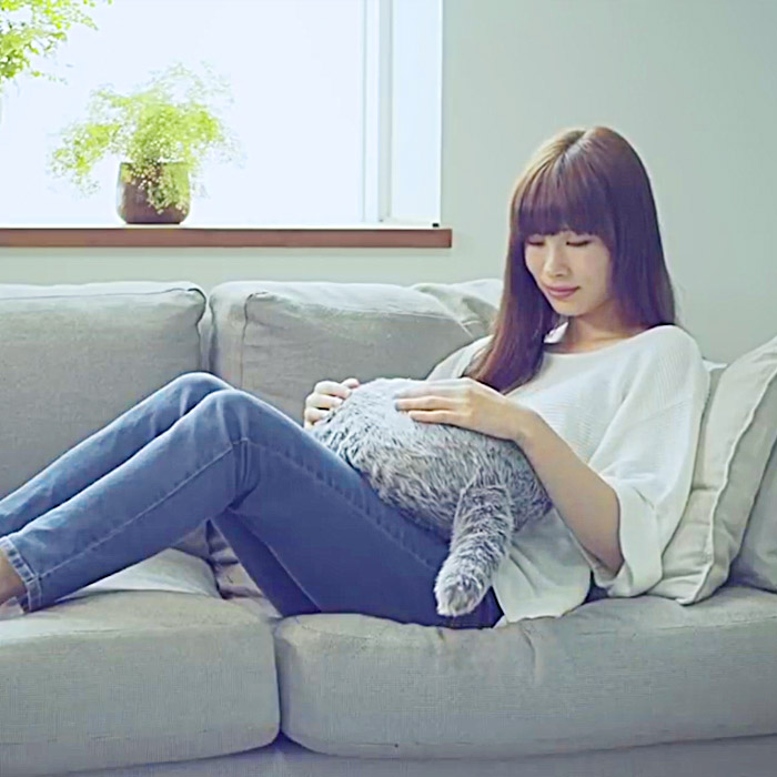 qooboo This robotic pet pillow helps calm your nerves