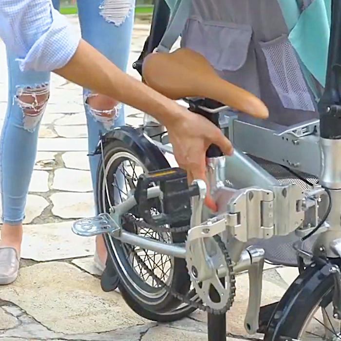 Alfawise Bike Stroller
