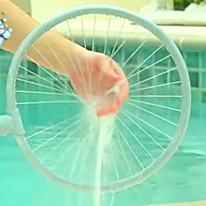 Circular Dog Shower
