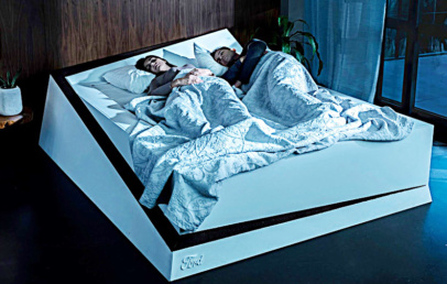 Ford Lane Keeping Bed Keeps Your Partner To Their Side