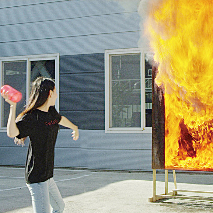 Throwable Fire Extinguisher