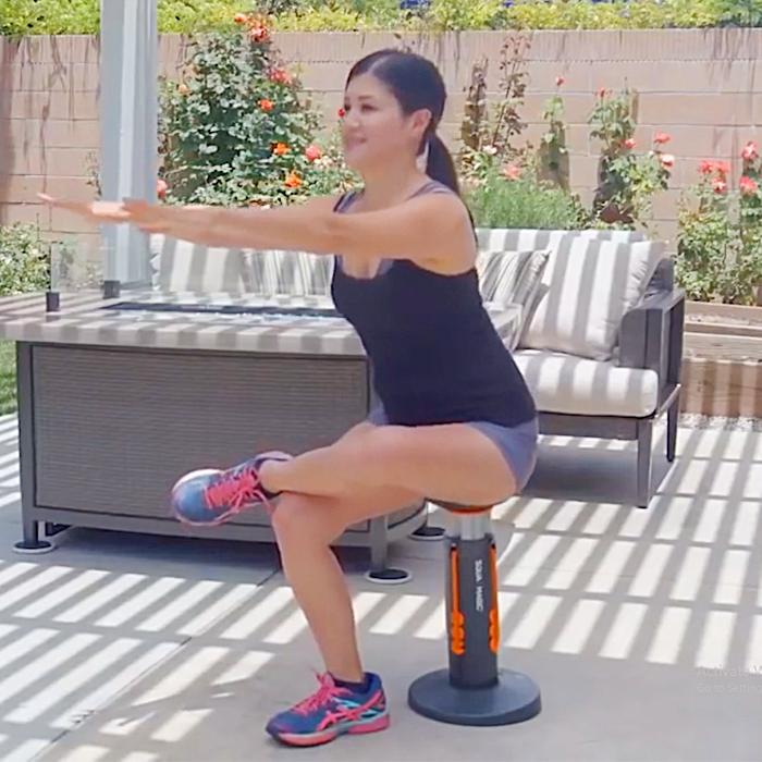 Unique Squat Workout Machine Help You Get Toned