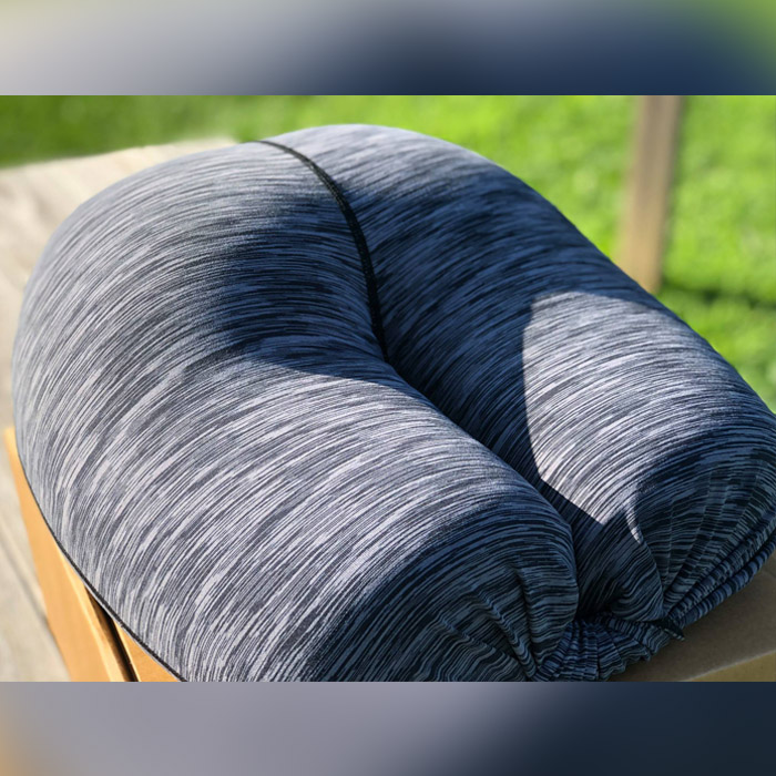 pillow that's designed to look and feel like a butt