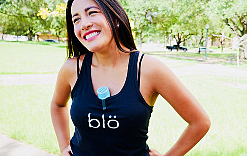 Blo | Wearable Personal Cooling Device And Diffuser