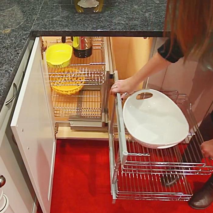 Best Kitchen Blind Corner Cabinet Pull, Kitchen Cabinets Organizers For Blind Corner