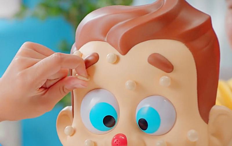 Pimple Popping Game   Squirts Pimple Juice On Your Face