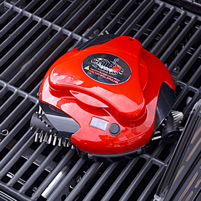 Automatic BBQ Grill Cleaning Robot