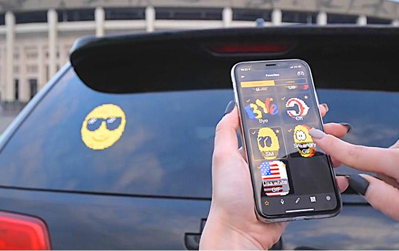Автомобильный Emoji дисплей в Одессе