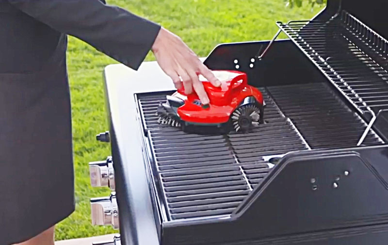 Extreme Grill Cleaning Robot Automatic Scraper Cleaner For Your