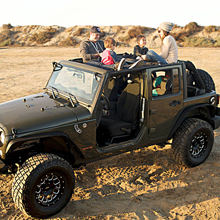 Jammock is a Hammock for Your Jeep or Truck!