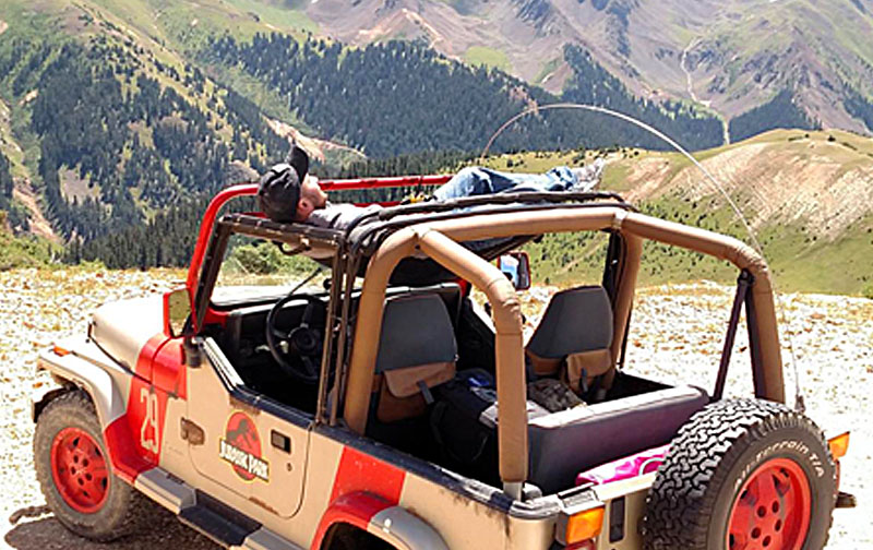 Jeep Hammock | Jammock is a Hammock for Your Jeep or Truck!