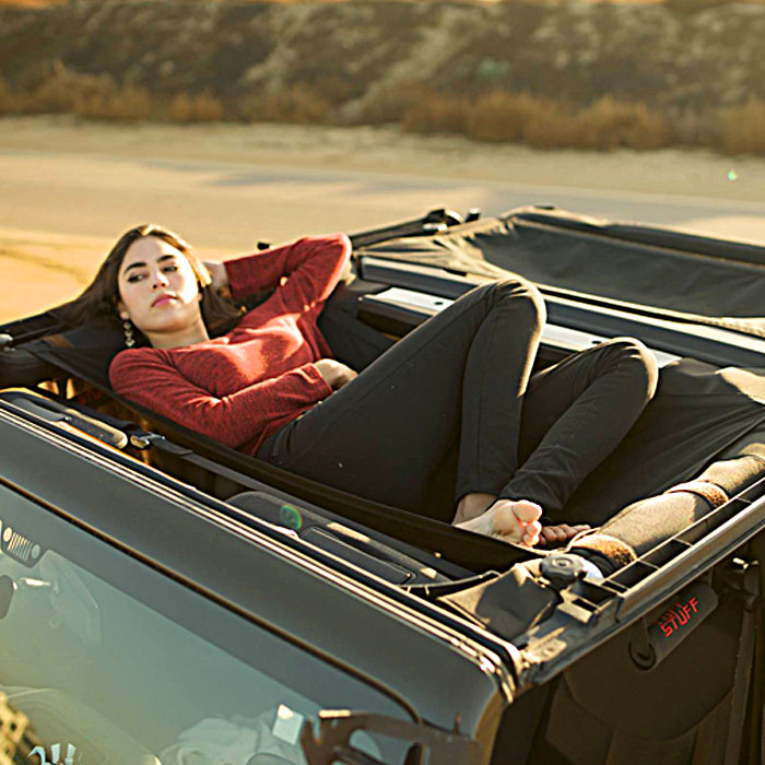 The Jammock Is a Hammock For The Top of Your Jeep